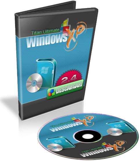Windows XP Titan Ultimate Edition v. 2.4 [Dvd Español]