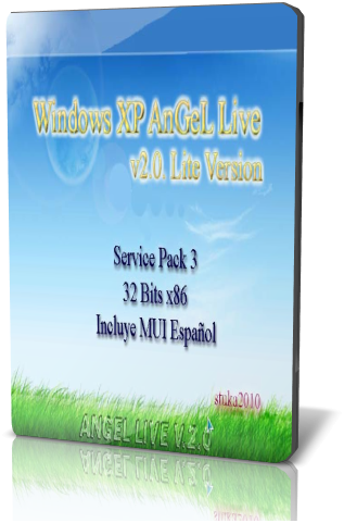Windows XP AnGeL Live v2.0 Lite Version. Sp3. 32 Bits + MUI Español