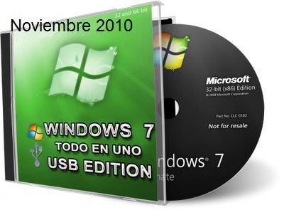 Windows 7 [USB Edition Esp][Instala Windows 7 Desde Tu USB]