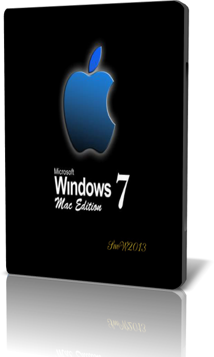 Windows 7 Mac Orange [2015] [64 bits] (4/4/2015)